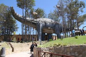 Ria-Helen Zühlke und Birgit Knoblauch, Parque Cretacico, Sucre