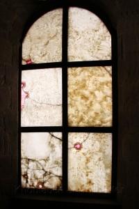 Alabaster-Fenster der im Inneren Basilica San Francicso