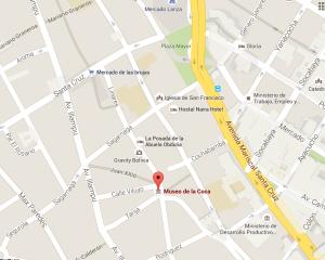 Stadtkarte La Paz