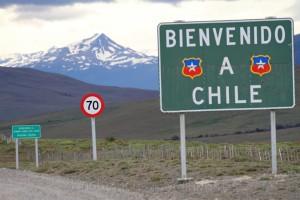 Grenzübergang zum Nationalpark Torres del Paine, Chile