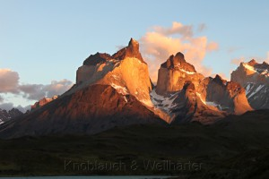 Sonnenaufgang, Nationalpark Torres del Paine, Chile