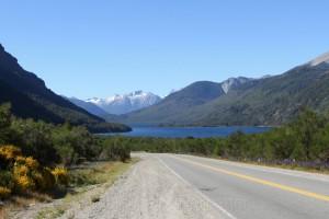 RN 60, Argentinien mit Blick auf den Quetrupillan, Chile