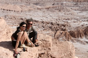 Valle de la Luna, Atacamawüste, San Pedro de Atacama, Chile (Birgit Knoblauch & Peter Weilharter)