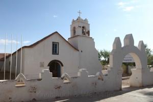 Kirche bei San Pedro de Atacama, Chile