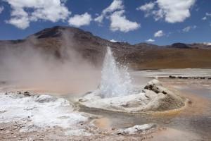 Geysir, Geothermalgebiet El Tatio, Chile