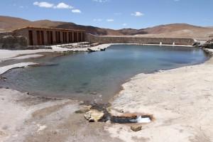 Thermalwasserschwimmbecken, Geothermalgebiet El Tatio, Chile