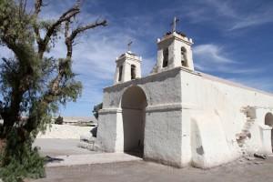 Kolonialkirche, Chiu Chiu, Antofagasta, Acatamawüste, Chile