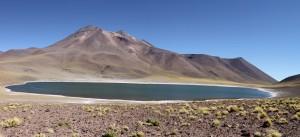 Laguna Miñiques, Region de Antofagasta, Atacamawüste, Chile