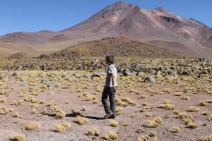 Vulkan Miscanti, Region de Antofagasta, Atacamawüste, Chile (Peter Weilharter)