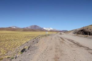 Ruta 23, Richtung Grenzübergang Paso Sico, Region de Antofagasta, Atacamawüste, Chile