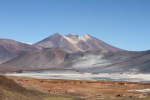 Salar aguas calientes, Ruta 23, Richtung Grenzübergang Paso Sico, Region de Antofagasta, Atacamawüste, Chile