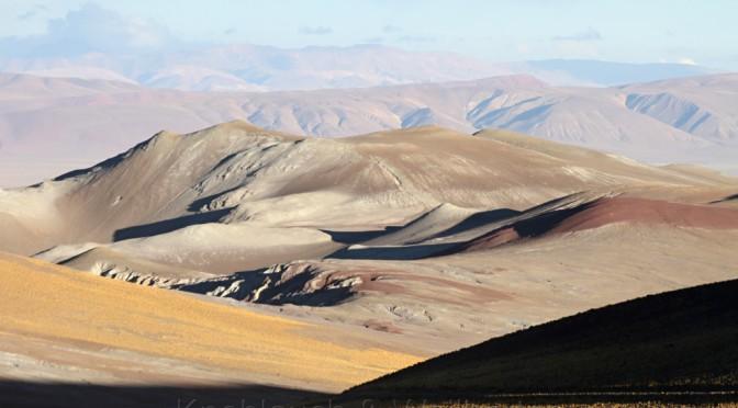 Grenzübergang Paso Sico von Chile nach Argentinien
