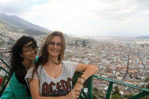 Aussichtsplattform bei der Statue de Virgin de Quito Birgit Knoblauch & Ria-Helen Zühlke