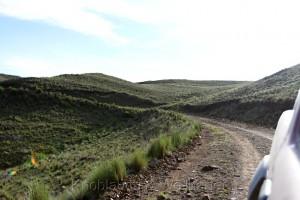 Straße von Santa Ana nach Südwesten, Provinz Jujuy, Argentinien