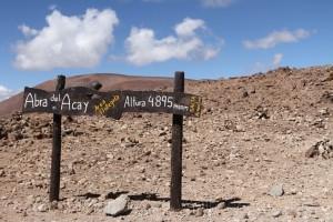 Höchste Straße des amerikanischen Kontinents - Abra del Acay, RN 40, Argentinien