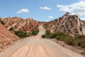 Valles Calchaquíes, RN 40, Argentinien