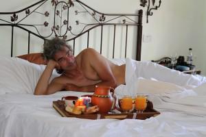 Peters 50. Geburtstag, Hotelzimmer in Cafayate, Argentinien