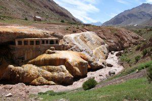 Inka Brücke - Puente del Inca, Naturdenkmal Argentiniens