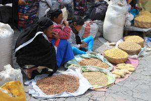 Markt in Otavalo, Ecuador