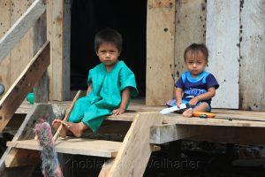 Kinder in Cuyabeno, Amazonas, Ecuador