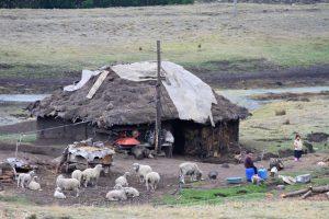 Wohnhaus in Provinz Chimborazo, Ecuador